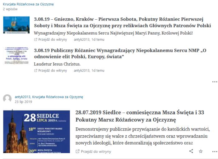 Screenshot_2019-07-31 Obserwujesz ‹ Czytnik — WordPress com
