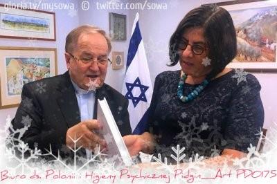 pdo175 rydzyk na spowiedzi u ambasador Izraela Azari