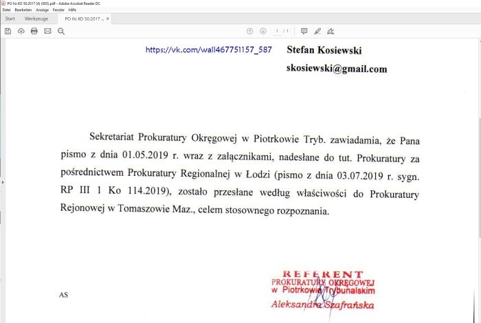 Zrzut ekranu 2019-07-10 07.29.44 Aleksandra Szafranska referent PO Piotrkow Trybunalski