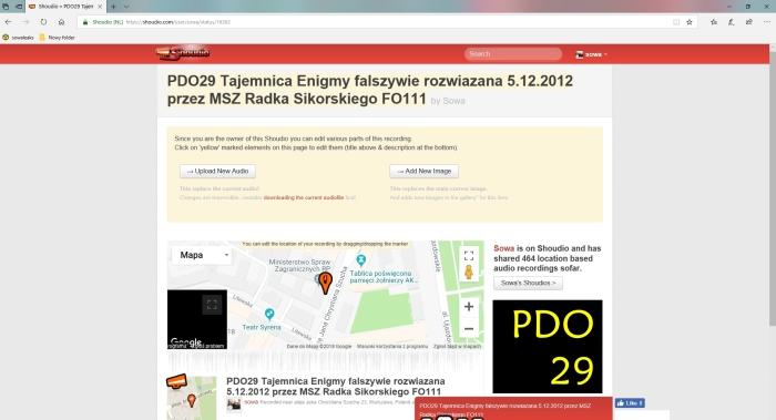 Panie Ambasadorze, Nie Polacy złamali ENIGME ale jakiś żyd i pedałPDO28