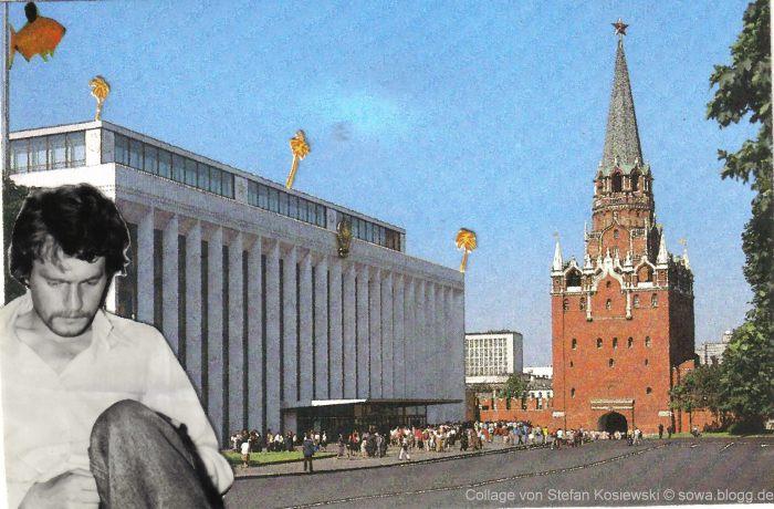 Dtefan Kosiewski: Kreml, collage
