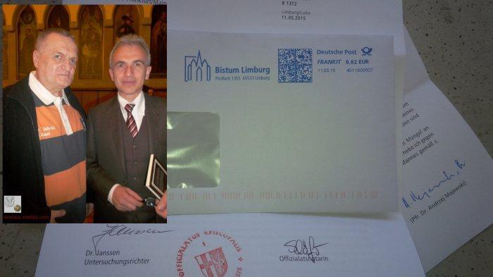 dr. majewski andrzej dr. janssen Pfr. Lic. iur. can. Hufsky Offizialat Bistum limburg