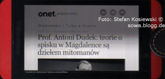 Nur für 18+/ poema dla dorosłych 20140626 Stefan Kosiewski do Prokuratury Generalnej FO198ZR