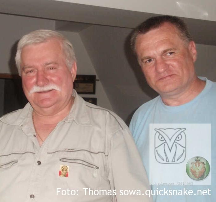 Lech Wałęsa, był już prezydent, a nie miał jeszcze fotki jako czarnobrody , będzie otwarcie wystawy ARMAGEDDON 19.05.2015 wLondynie.