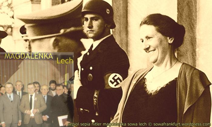 …do jakiego miasta Hitler najczęściej jeździł? …jakby był w Krakowie prezydent z PiS? sowa w sepii o symbolicznej wadzeWawelu