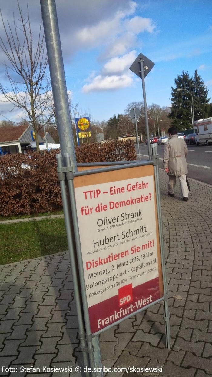 250 000 ludzi manifestowało 10.10.2015 w Berlinie przeciwko niedemokratycznym konszachtom TTIP, CETA,TiSA