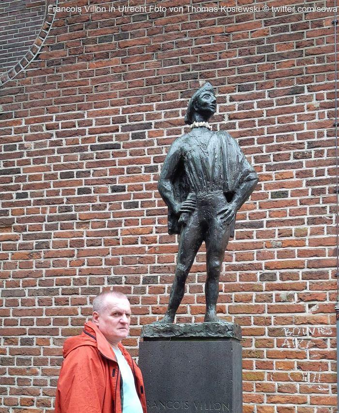 Francois Villon in Utrecht von Thomas Kosiewski 2