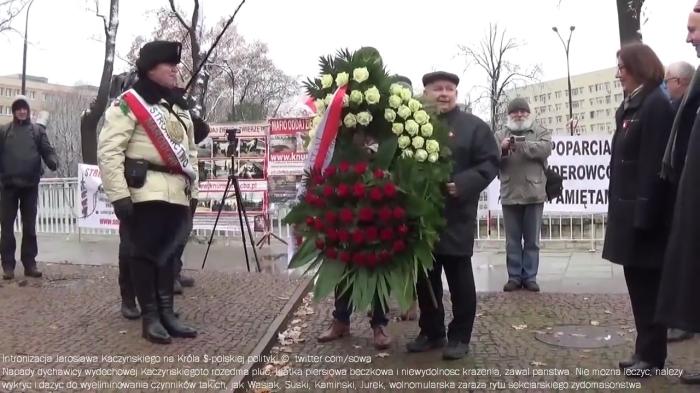 intronizacja Kaczynskiego