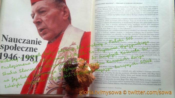 Ks. Prymas Wyszynski Wołamy o Nowych ludzi plemię dla stolicy i Polski PDO505 Z listów do świętych Kościoła św. na fejsbuku FO von Stefan Kosiewski SSetKhZECh