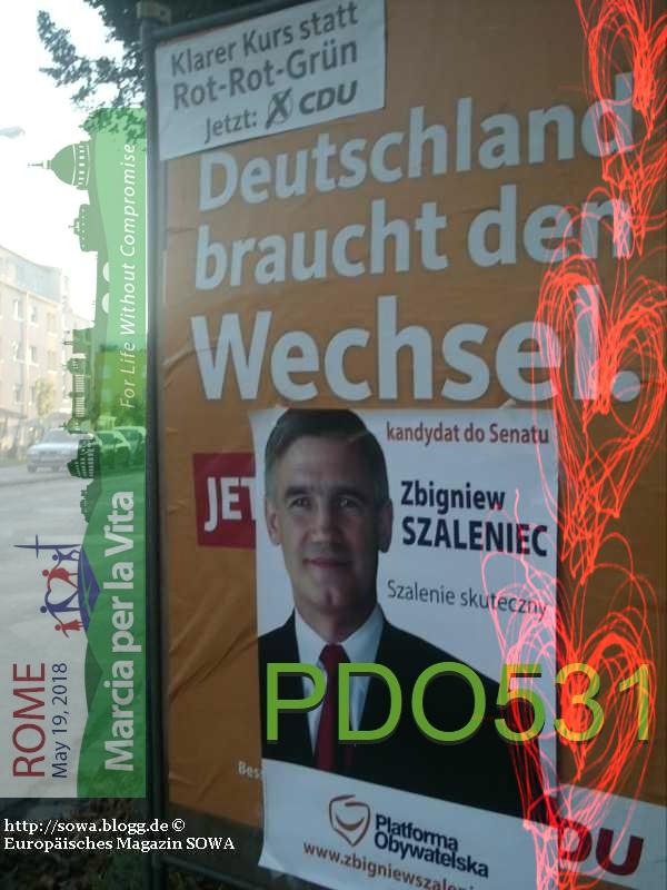 PDO531 2005_wybory_Deutschland_braucht Szaleniec Rome May 19 2018