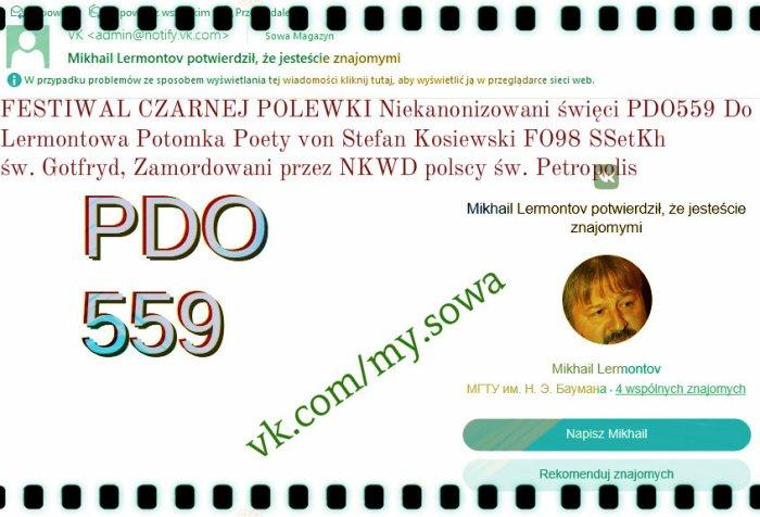 Michail Lermontow PDO559