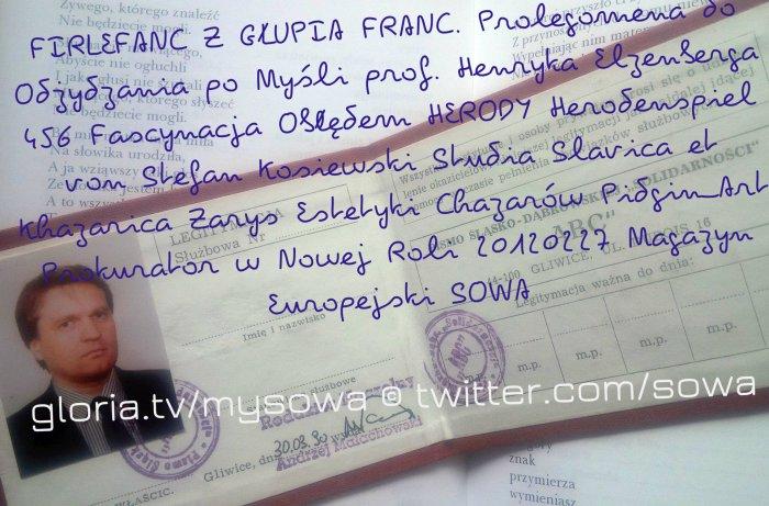 firlefanz abc-pdo456-sk-sowa