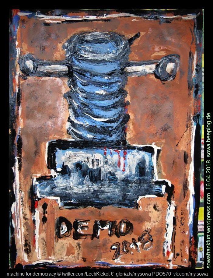 machine for democracy pdo570 sowa klekot