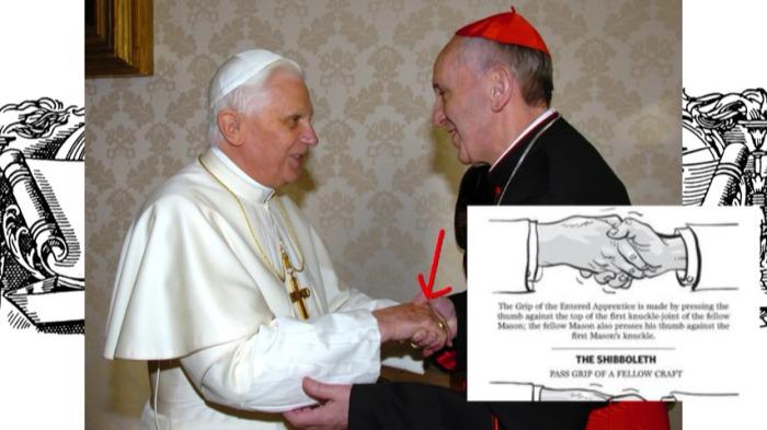 znak masonski franciszek benedykt