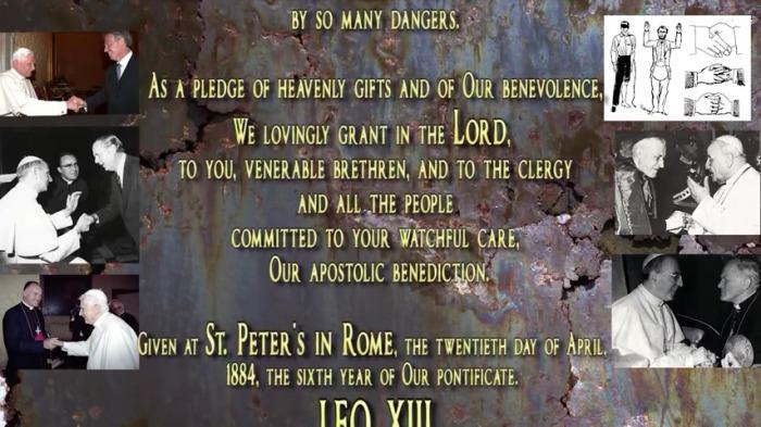 znak wojtyla leo xIII 1884