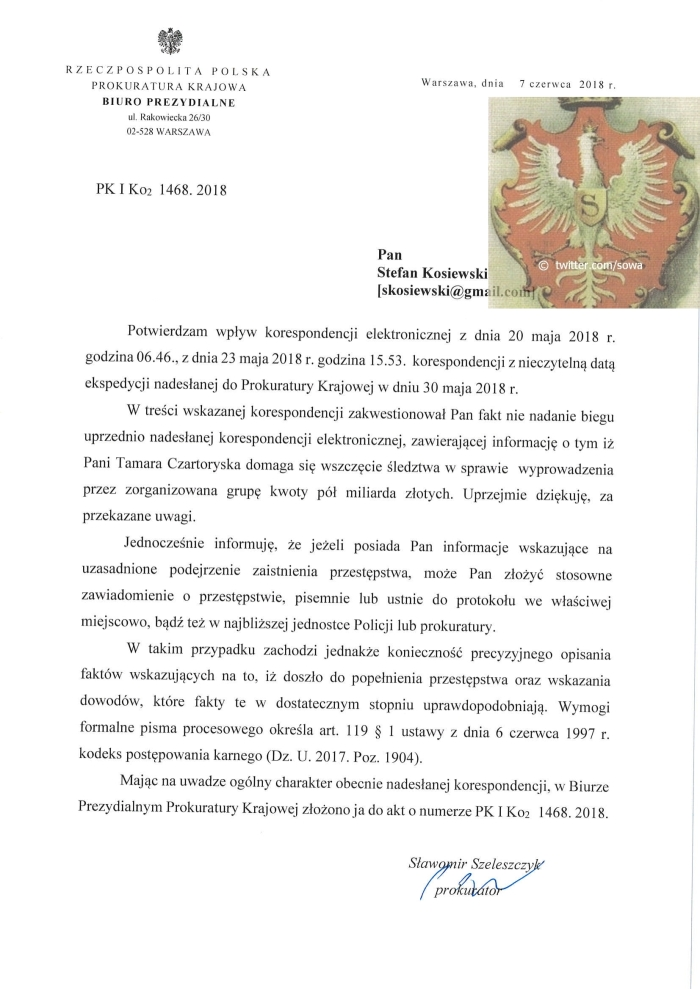 PK Szeleszczyk 7.06.2018