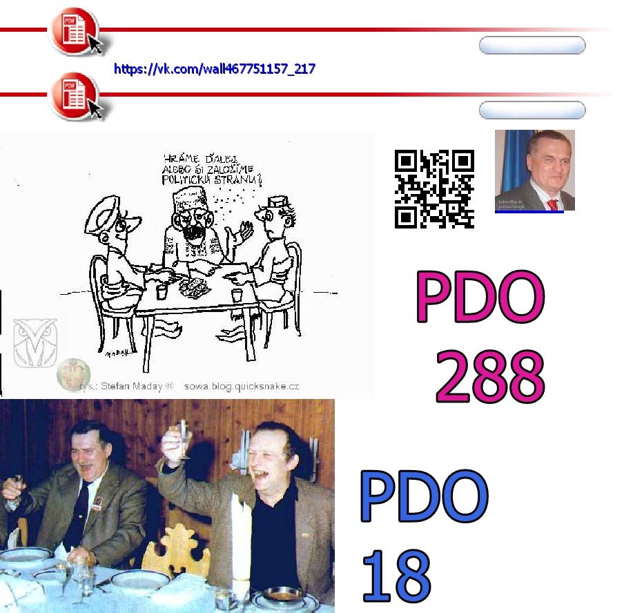 PDO288 CANTO DCLXXXI PDO18 MICHNIK
