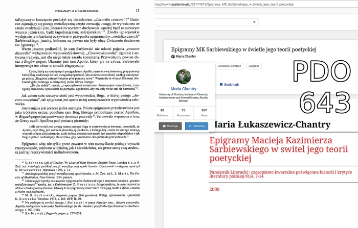 maria chantry epigramy mk sarbiewskiego zrzut ekranu 2019-01-21 07.50.36