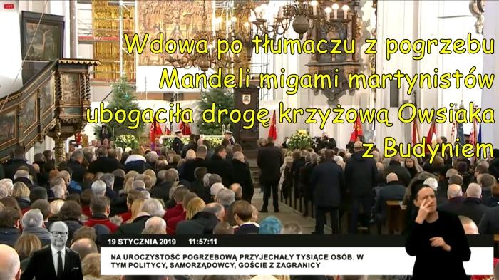 masonskim_znakiem_na_pogrzebie wdowa