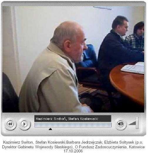 Kazimierz_Switon_Stefan_Kosiewski_Barbara Jedrzejczak_Katowice_17.10.2006