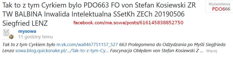 Screenshot_2019-05-06 Tak to z tym Cyrkiem bylo PDO663 FO von Stefan Kosiewski ZR TW BALBINA Inwalida Intelektualna SSetKh [...](2)