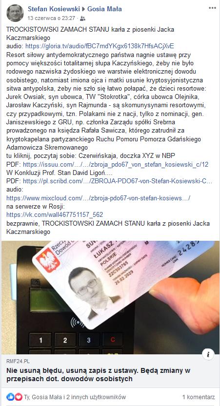 Screenshot_2019-06-30 TROCKISTOWSKI ZAMACH STANU karła z piosenki - Stefan Kosiewski