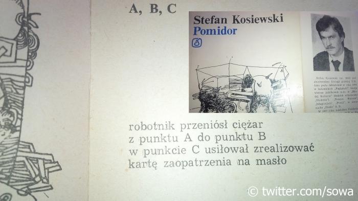 ABC Stefan Kosiewski POMIDOR Katowice 1982