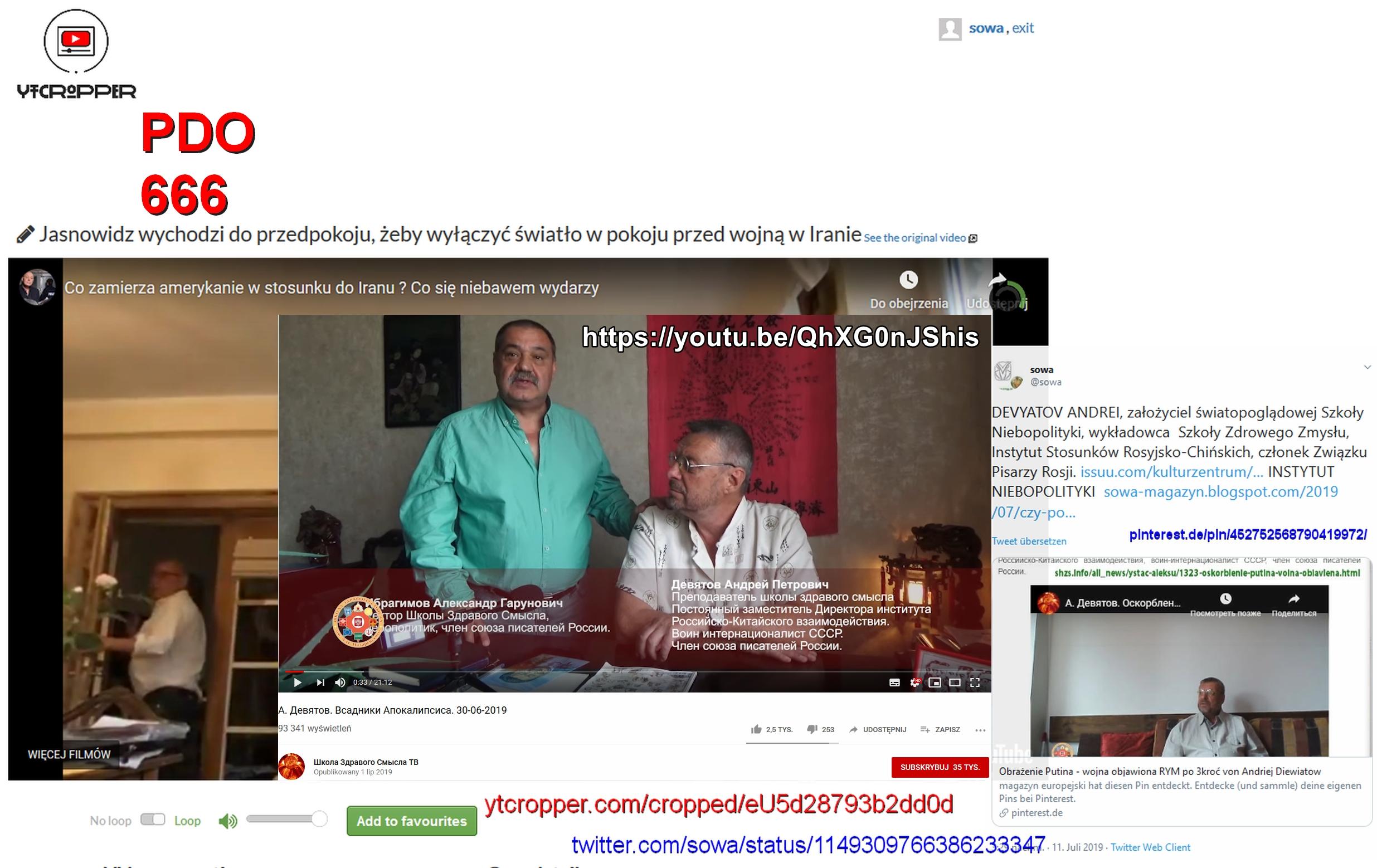 PDO666 Screenshot_2019-07-12 ytCropper Co zamierza amerykanie w stosunku do Iranu Co się niebawem wydarzy