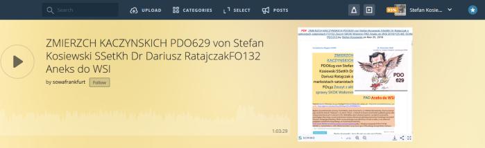 Screenshot_2020-01-18 ZMIERZCH KACZYNSKICH PDO629 von Stefan Kosiewski SSetKh Dr Dariusz RatajczakFO132 Aneks do WSI