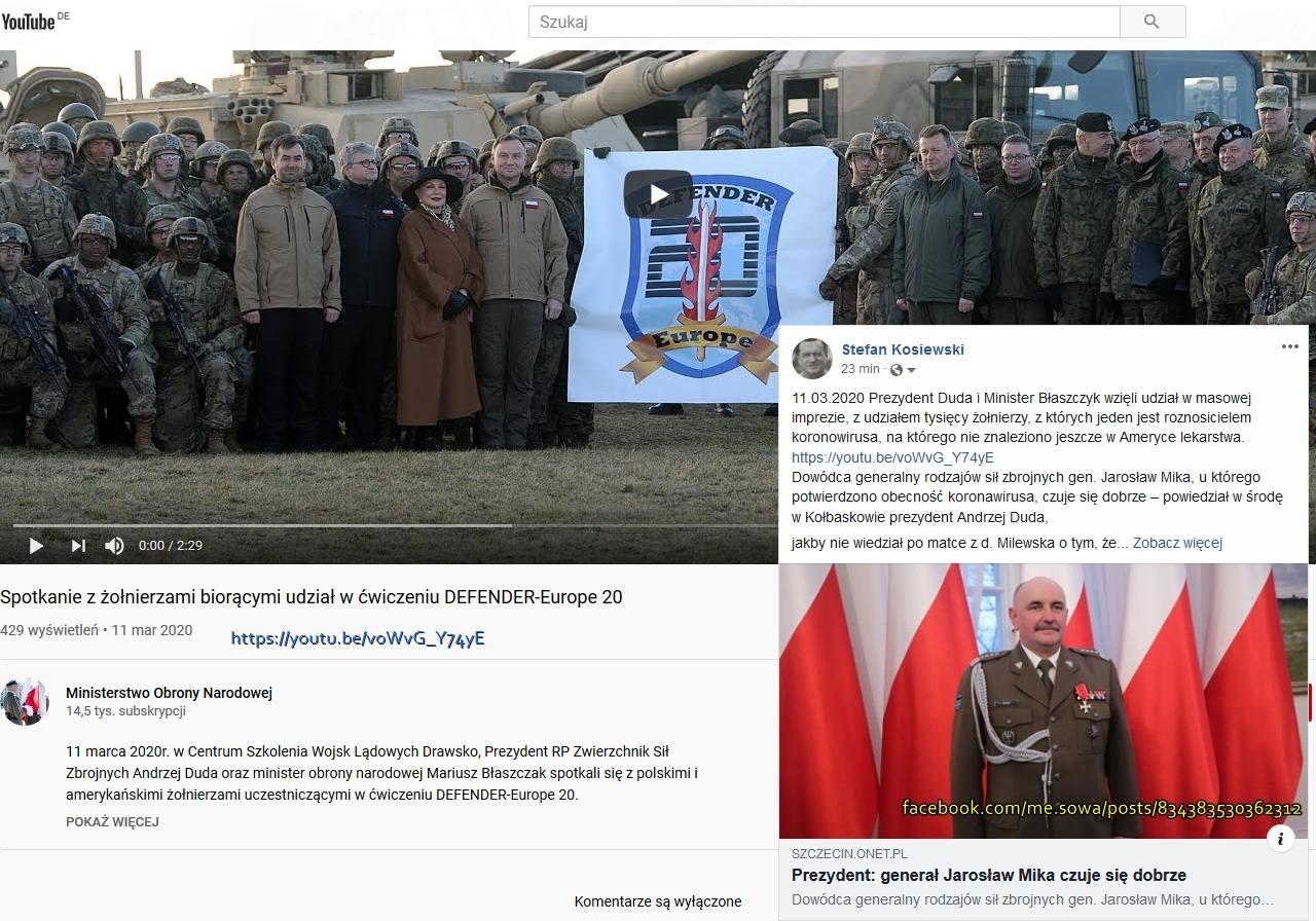 Screenshot_2020-03-12 Spotkanie z żołnierzami biorącymi udział w ćwiczeniu DEFENDER-Europe 20