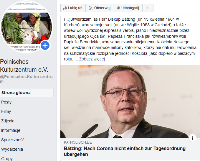https://www.facebook.com/PolnischesKulturzentrum/