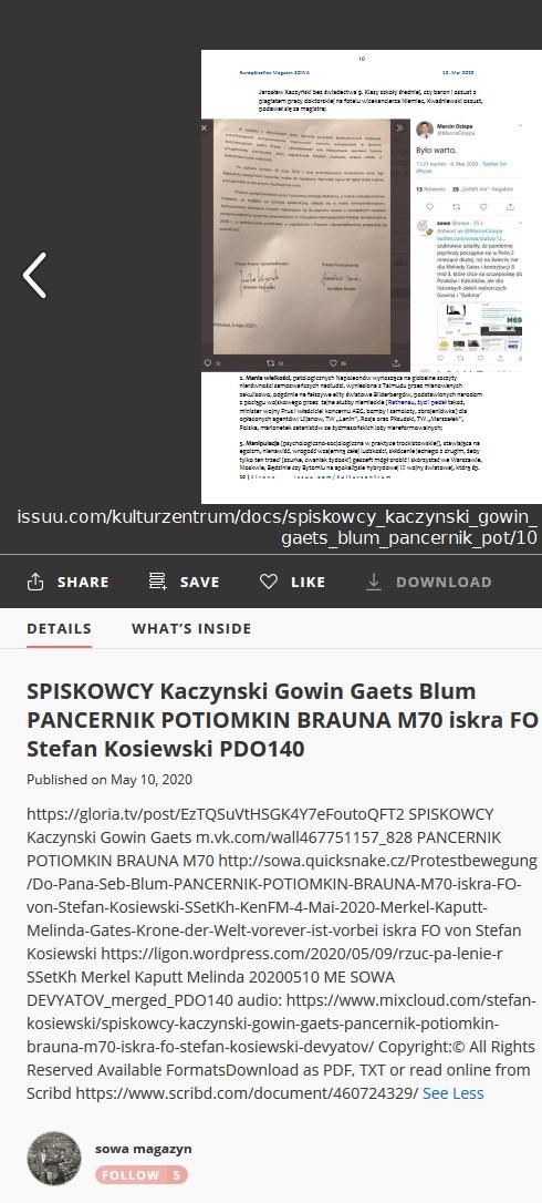 Screenshot_2020-05-12 SPISKOWCY Kaczynski Gowin Gaets Blum PANCERNIK POTIOMKIN BRAUNA M70 iskra FO Stefan Kosiewski PDO140
