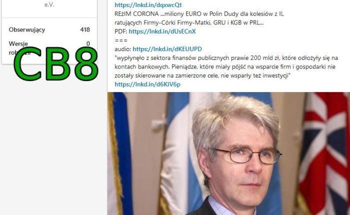 ZMIANA PARADYGMATU na Białorusi CB8 the Blue line SSetKh von Stefan Kosiewski  Porozumienie dla Pokoju i Rozwoju Ludzkości w NWO i EuropieM30